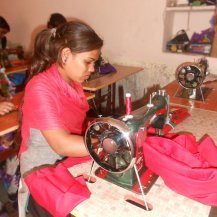 gomif-donate-sewing-machine-to-single-mother